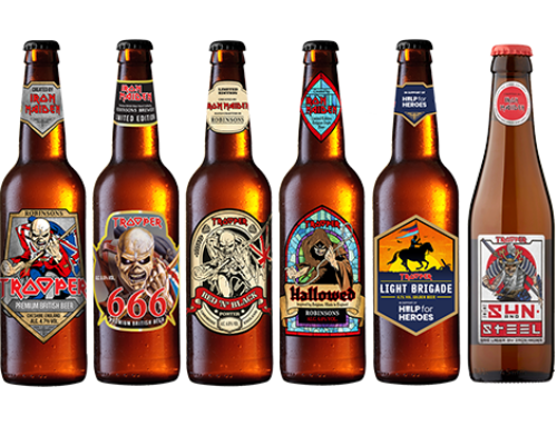 Iron Maiden and Robinsons Brewery Announce Trooper Collection in Celebration of 25 Million Pints